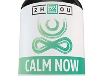 CALM NOW Anxiety Relief and Stress Support Supplement – Herbal Blend Keeps Busy Minds Relaxed, Focused & Positive – Promotes Serotonin Increase – 5-HTP, B Vitamins, L-Theanine, St. Johns Wort & More