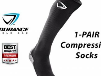 Compression Socks (2 pcs) – Medium – Black