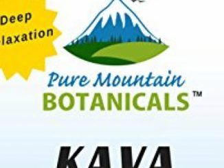 Kava Kava Capsules – 90 Kosher Veggie Caps Now with 400mg Wild Harvested Kava Root Powder by Pure Mountain Botanicals