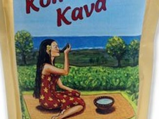 KONA KAVA Premium Powdered Kava Root (8oz)