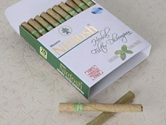 Nirdosh Herbal Nicotine Free Pack Of 120 Cigarettes – Made with Ayurvedic Herbs