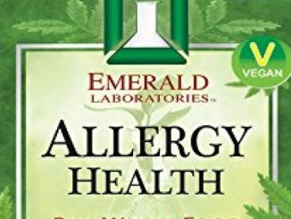 Emerald Laboratories – Allergy Health – with Quercetin, Bromelain & N-Acetyl Cysteine – 120 Vegetable Capsules