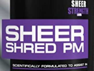 Sheer SHRED PM, Nighttime Fat Burner and Sleep Aid Supplement, 60 Stimulant-Free Weight Loss Pills