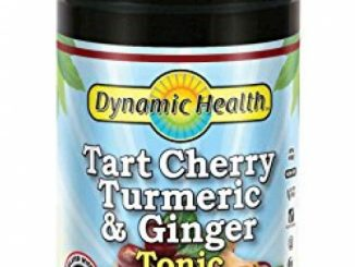 Dynamic Health Tart Cherry Turmeric and Ginger Tonic Supplement, 16 Ounce