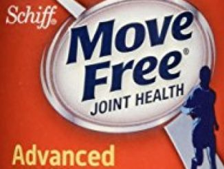 Move Free Glucosamine Chondroitin MSM and Hyaluronic Acid Joint Supplement, 120 Count