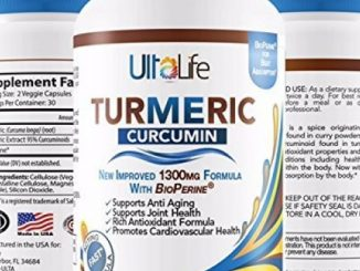 #1 TURMERIC CURCUMIN SUPPLEMENT w BioPerine Black Pepper Extract – BEST Pain Relief Anti-Inflammatory Pills + Joint Support + Highest Potency 1,300mg Turmeric Root + 95% Curcuminoids by UltaLife