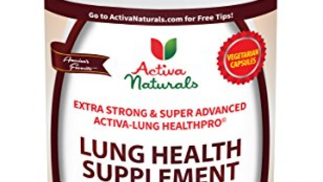Activa Naturals Lung Health Supplement with Lobelia, Mullein, Thyme & Peppermint Herbs for Respiratory Support – 90 Veg. Caps