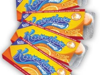 Kava Stress Relief Candy from Hawaii Orange Flavor – 4 Pack