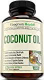 Coconut Oil with MCT & MCFA - Extra Virgin - Promotes Healthy Skin, Hair & Nails. Supports Heart, Immune & Digestive Health. Helps Boost Brain Function and Enhance Absorption of Nutrients & Minerals