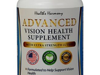 Best Lutein Eye Vitamins – Vision Support Supplement for Dry Eyes & Vision Health Care – Bilberry – Proudly Made in the USA – 100% Money Back Guarantee – 60 Capsules