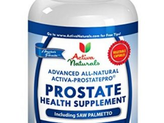 Activa Naturals Prostate Health Supplement for Men – Advanced & Natural 90 Vegetarian Capsules with Saw Palmetto & Pumpkin Seeds for Prostate & Urinary System Health