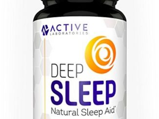 Deep Sleep All-Natural Sleep Aid – Formulated with Valerian Root, Melatonin, Chamomile, L-Tryptophan & More – 60 ct. Veggie Capsules