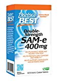 Doctor's Best SAM-e 400, 60-Count (Packaging May Vary)