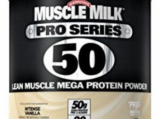 Muscle Milk Pro Series Protein Powder, Intense Vanilla, 50g Protein, 2.54 Pound