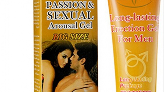 Passion and Sexual arousal Gel Erection Cream