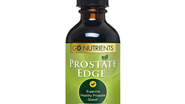 Prostate Edge – Health Support Supplement for Men with Saw Palmetto Plus More – 2 oz Liquid Drops