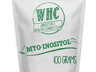 WHC Myo Inositol Powder 100g (200 Servings) | Nootropic | Cognitive Enhancer | Mood Support | Memory | Learning | Focus | Concentration | Boosts Mental and Physical Energy
