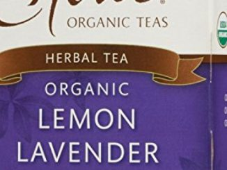 Choice Organic Caffeine Free Lemon Lavender Mint Herbal Tea, 16 Count Box