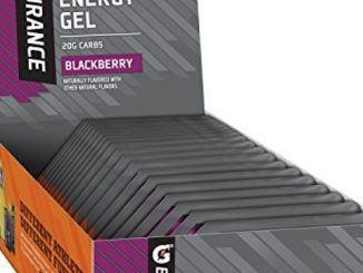 Gatorade Endurance Energy Gel, Blackberry, 21 Pack, 1.3 oz Pouches