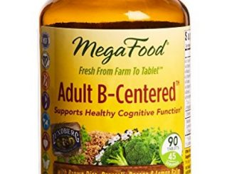MegaFood – Adult B-Centered, Supports Healthy Cognitive Function, 90 Tablets