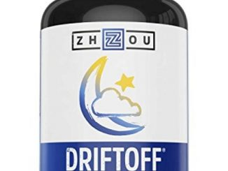 DRIFTOFF Natural Sleep Aid with Valerian Root & Melatonin – Sleep Well, Wake Refreshed – Non Habit Forming Sleep Supplement – Also Includes Chamomile, Tryptophan, Lemon Balm & More – 60 Veggie Caps