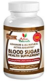 Activa Naturals Blood Sugar Supplement with Cinnamon, Gymnema & Advanced Natural Herbs for Diabetic Health Vitamins & Herbal Supplements Support for Healthy Glucose - 90 Veg. Capsules