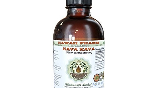 Kava Kava Alcohol-FREE Liquid Extract, Kava Kava (Piper Methysticum) Dried Root Glycerite 2oz