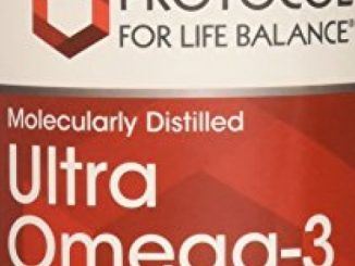 Protocol For Life Balance – Ultra Omega-3 (500 EPA / 250 DHA) – Supports Cardiovascular and Cognitive Function – 180 Softgels