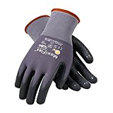 MaxiFlex Endurance 34-844/XL Seamless Knit Nylon Glove with Nitrile Coated Micro-Foam Grip on Palm and Fingers, Micro Dot Palm
