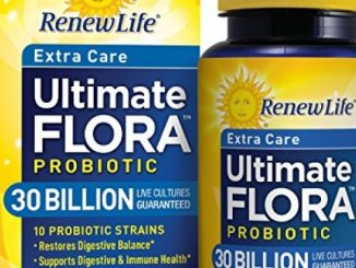 Renew Life – Ultimate Flora Probiotic Extra Care – 30 billion – daily digestive and immune health supplement – 30 vegetable capsules