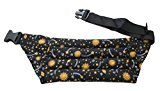 Nature's Approach Aromatherapy Belted Lumbar Wrap Herbal Pack, Celestial Black