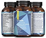 Natural Liver Support Dietary Supplements Promote Liver Health & Weight Loss For Men & Women - Milk Thistle + Dandelion + Artichoke Complex - Detox Cleanse Vitamins Boost Metabolism - Brandon Sciences