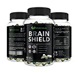 Whole Nature Brain Shield ~ Sharpen Your Focus * Boost Energy * Improves Memory and Recall * Reduced Stress and Anxiety * Protects Cognitive Decline and Supports a Healthy Brain.