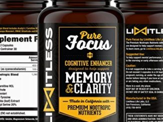 Limitless – Pure Focus. Memory, Clarity, Mind and Cognitive Enhancer. Designed to Support Concentration, Retention and Mental Awareness. Reviews