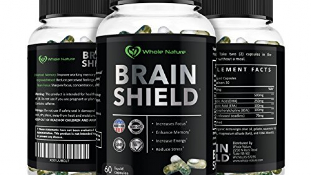 Whole Nature Brain Shield ~ Sharpen Your Focus * Boost Energy * Improves Memory and Recall * Reduced Stress and Anxiety * Protects Cognitive Decline and Supports a Healthy Brain. Reviews