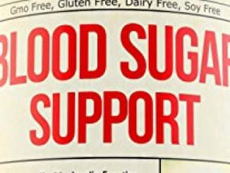 Blood Sugar Supplement for Healthy Heart – Glucose, Insulin & Cholesterol Control. Supports Immune Health. Manganese, Vitamin C E, Biotin, Cinnamon, Magnesium, Zinc, Cayenne, Natural Herbs & Minerals
