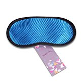 Nakital Bamboo Sleep Mask Contoured Eyemasks Eye Mask For Sleeping Silk Funny Night Slumber Masks Covers For Women Men Kids Girls, Portable Blocks Light Comfortable Eyeshades Travel