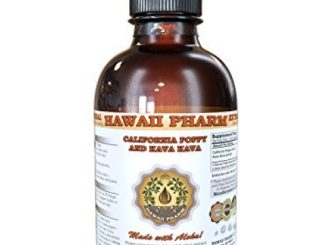 California Poppy (Eschscholzia Californica) and Kava Kava (Piper Methysticum) Liquid Extract 4 oz