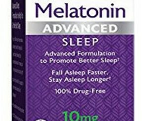 Natrol Advanced Sleep Melatonin Tablets, Maximum Strength 10 mg 60 ea ( Pack of 3)