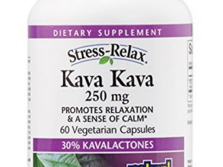 Natural Factors – Stress-Relax Kava Kava 250mg, Promotes Relaxation & a Sense of Calm, 60 Vegetarian Capsules Reviews