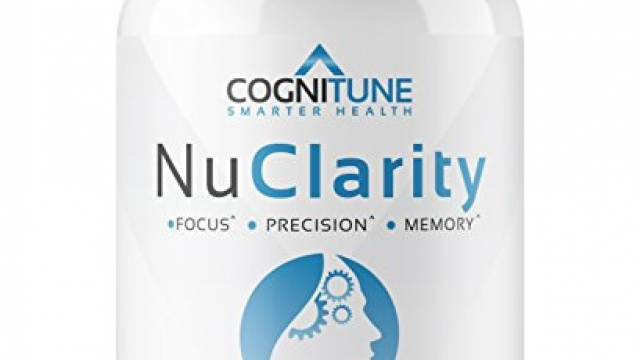 NuClarity – Premium Natural Brain Function Supplement – #1 Focus, Energy, Memory Booster – Mental Health, Clarity & Cognitive Support Nootropic – Ginkgo Biloba, Phosphatidylserine, Rhodiola Rosea