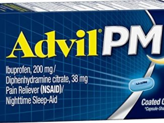 Advil PM (120 Count) Pain Reliever / Nighttime Sleep Aid Caplet, 200mg Ibuprofen, 38mg Diphenhydramine