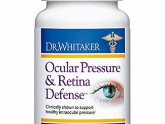 Dr. Whitaker's Ocular Pressure & Retina Defense Eye Health Supplement, 30 Capsules (30-day supply)