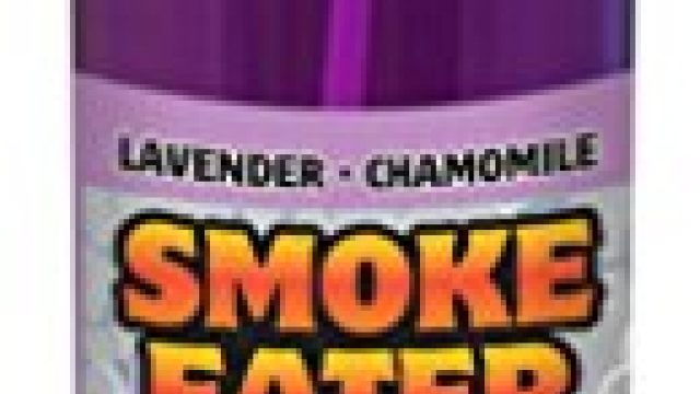Smoke Eater – Breaks Down Smoke Odor at the Molecular Level – Eliminates Cigarette, Cigar or Pot Smoke On Clothes, in Cars, Boats, Homes, and Office – 4 oz Travel Spray Bottle (LAVENDER)