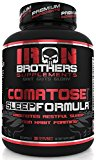 Natural Sleep Aid Formula - Non Habit Forming Supplement Sleeping Pills with Melatonin, Valerian Root, Gaba, Chamomile, L-Tryptophan - Herbal - High Quality - 60 Veggie Caps - Made In USA
