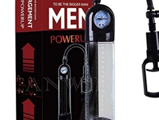 ZeHui Men's Manual Pressure Gauge Erection Penis Pump Vacuum Exercise Air Training Penis Extender Pump with Barometer