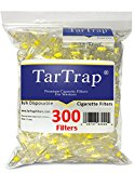 TarTrap Disposable Cigarette Filters, 300 per Pack