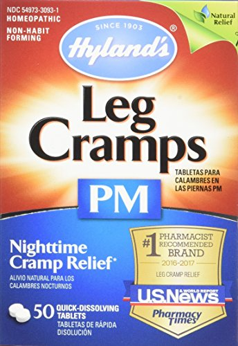 Hyland S Night Time Leg Cramps Pm Tablets Natural Cramp