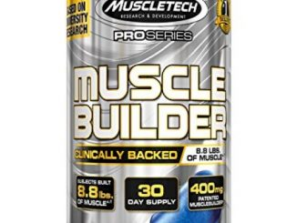 MuscleTech Muscle Builder, Muscle Building, Strength Boosting Pill with PEAK ATP, 30 Rapid Release Caps Reviews